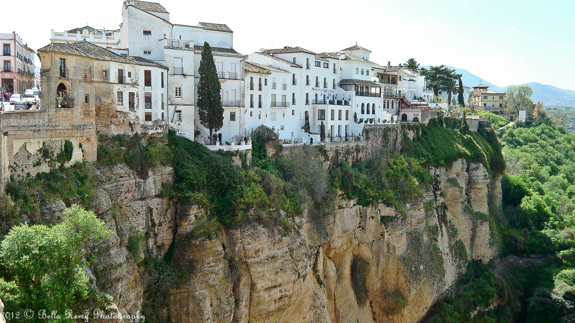 river running through ronda spain Picture of the Day: A River Runs Through  It