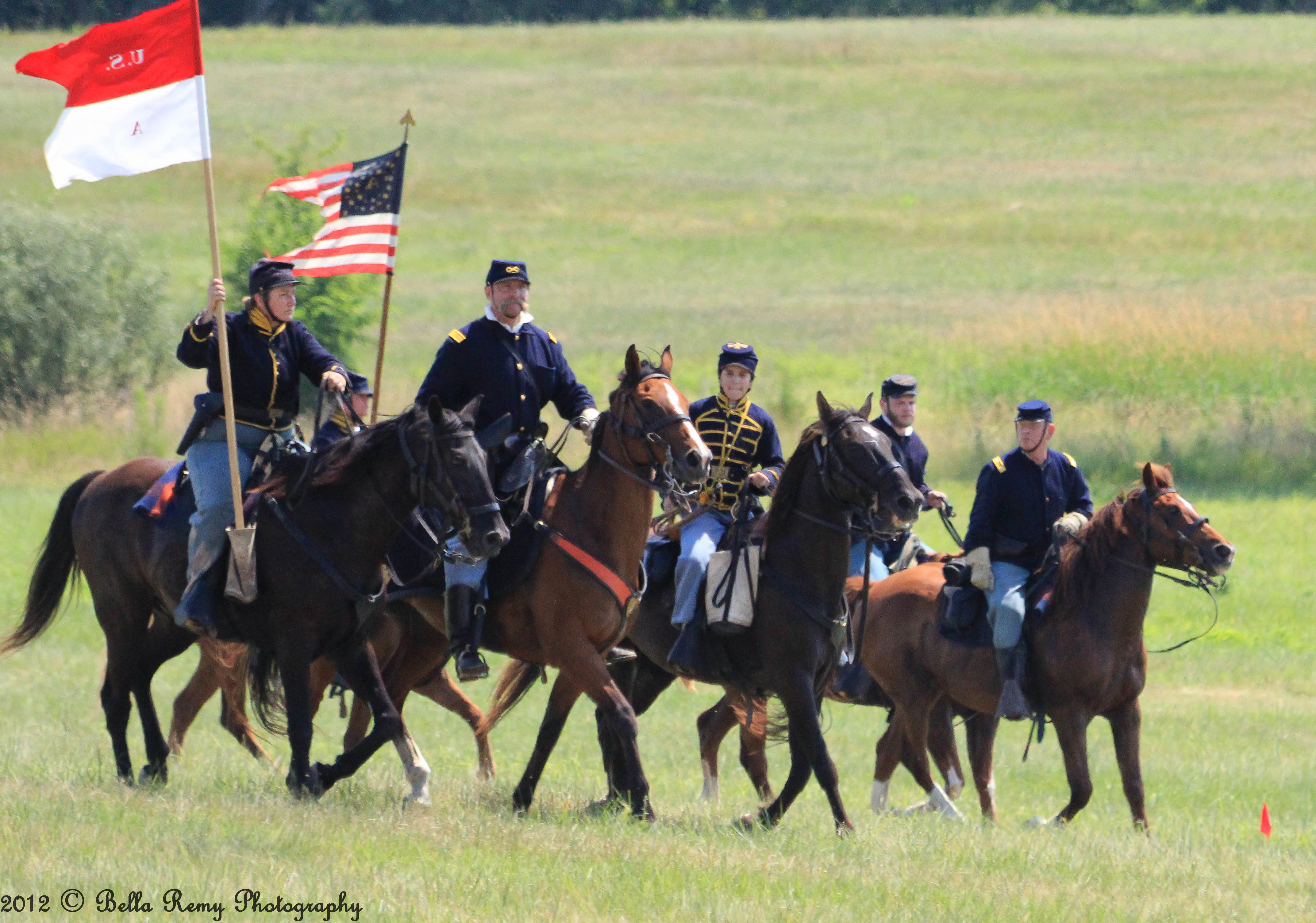 Gettysburg Civil War Reenactment Part Two: The Cavalry Skirmish