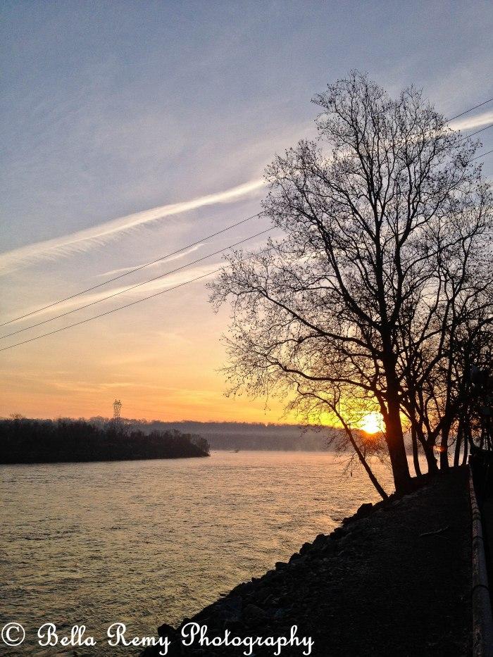 Dawn at the Dam