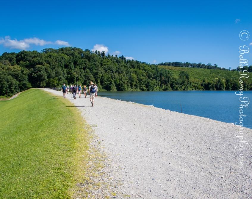 Hiking Along Lake Redmond