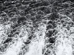 The Dam falls between Lake Redmon and Lake Williams