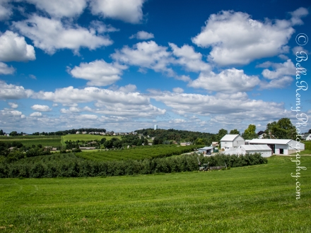 The Pennsylvania countryside seemed like it belonged in Tuscany, Italy
