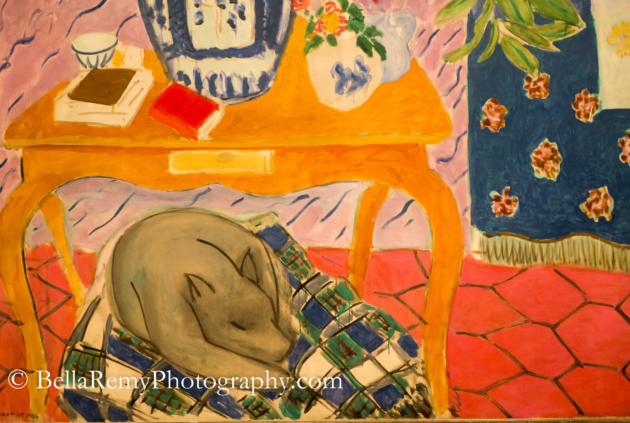 "Henri Matisse ""Interior with Dog"""